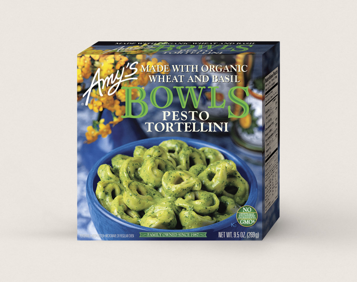 Amy S Kitchen Pesto Tortellini