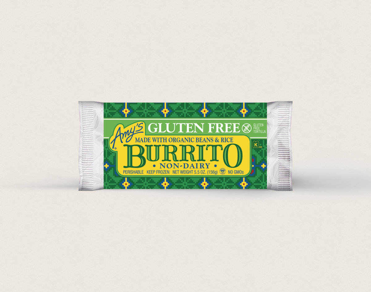 Amy S Kitchen Gluten Free Burrito Ingredients