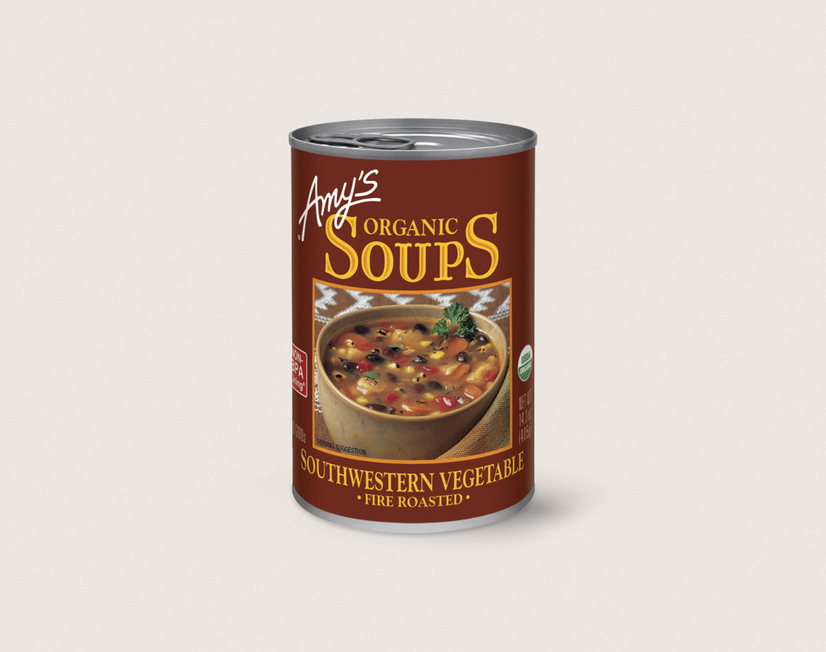 Amy S Kitchen Fire Roasted Vegetable Soup