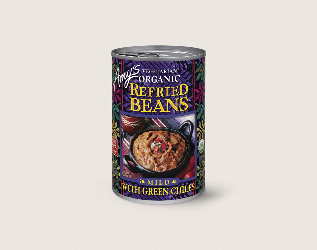 Amy\'s Kitchen - Amy\'s Organic Refried Beans with Green Chiles