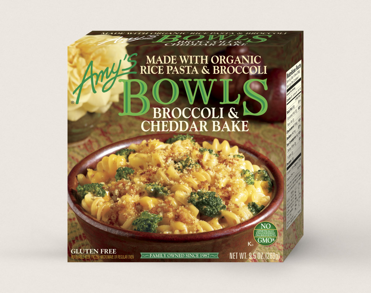 Amy S Kitchen Gluten Free Broccoli Cheddar Bake