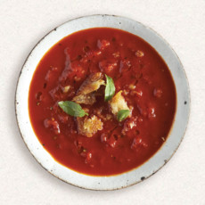 Amy's bowl of tomato soup