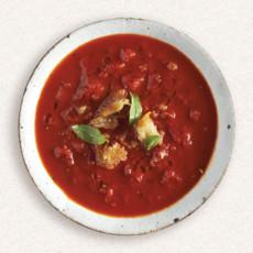 Amy's bowl of tomato soup