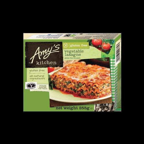 Vegetable Lasagna, Gluten Free