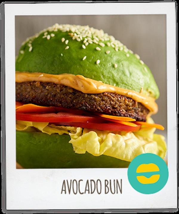 Amy's Veggie Burger AV Bun