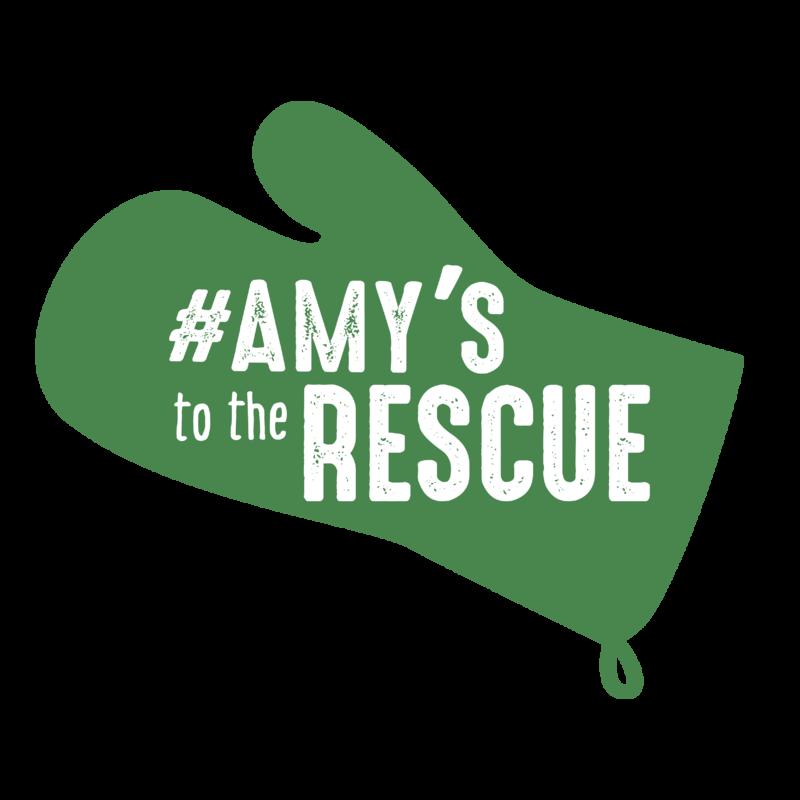 #AmysToTheRescue