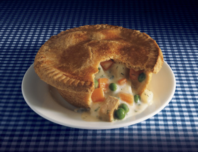 Vegetable Pot Pie/Pâtes aux Légumes