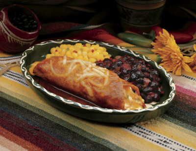 Cheese Enchilada Whole Meal/Enchilada Au Fromage standard image