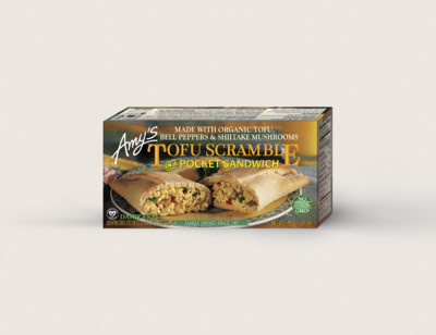 Tofu Scramble in a Sandwich