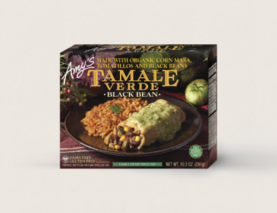 Black Bean Tamale Verde