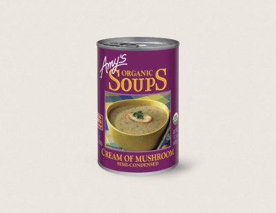 Organic Cream of Mushroom Soup