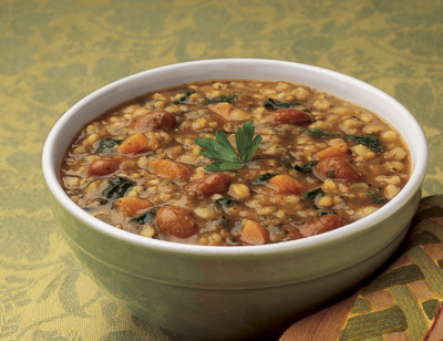 Organic Tuscan Bean & Rice Soup