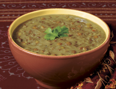 Organic Indian Curried Lentil Soup standard image