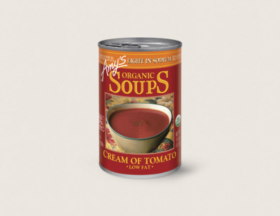 Organic Cream of Tomato Soup, Light in Sodium