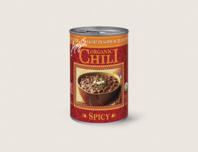 Organic Spicy Chili, Light in Sodium