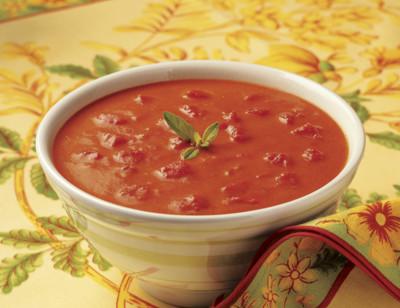 Soupe velouté de tomates bio standard image