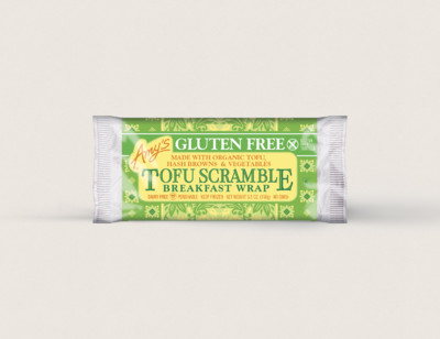 Tofu Scramble Breakfast Wrap, Gluten free