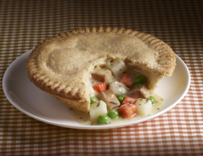 Vegetable Pot Pie, Gluten Free standard image