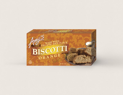 Orange Biscotti, Gluten Free