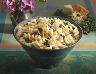 3 Cheese Kale Bake Bowl/Gratin de Chou Frisé aux 3 Fromages standard image