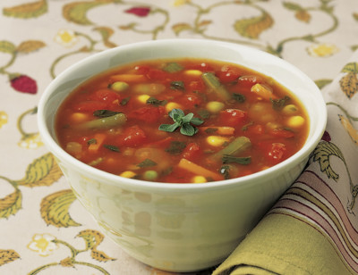 Organic Chunky Vegetable Soup standard image