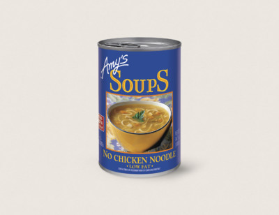 No Chicken Noodle Soup