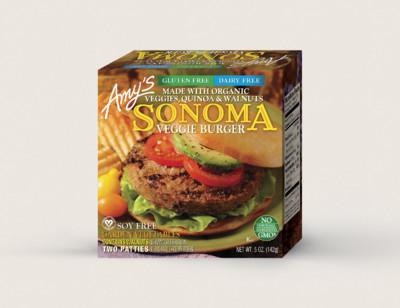 Sonoma Veggie Burger - 2 Patties, Gluten Free, Dairy Free