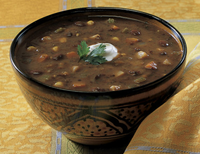 Organic Black Bean Vegetable Soup