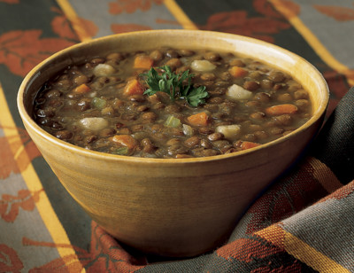 Organic Lentil Soup, Light in Sodium