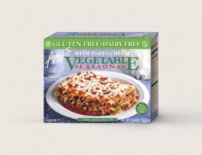 Vegetable Lasagna with Daiya Cheeze™, Gluten Free, Dairy Free