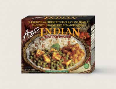 Indian Mattar Paneer
