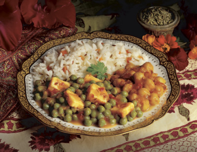 Indian Mattar Paneer, Light in Sodium standard image
