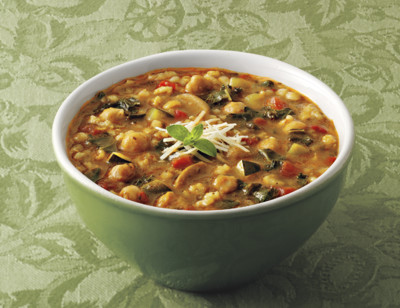 Organic Hearty Rustic Italian Vegetable Soup standard image