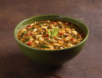 Organic Hearty Minestrone with Vegetables standard image
