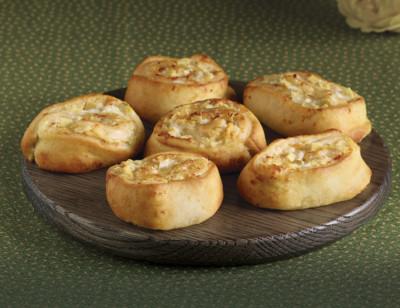Artichoke & Parmesan Swirls