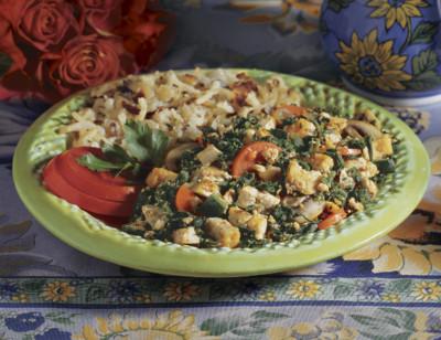 Veggie Scramble with Tofu/Brouillade De Légumes standard image