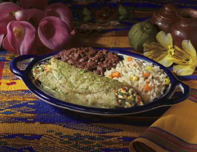 Enchilada Verde Meal standard image