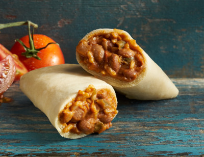 Gluten Free Bean & Rice Burrito/Haricots Et Riz standard image