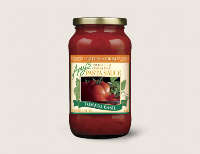 Organic Tomato Basil Pasta Sauce, Light in Sodium