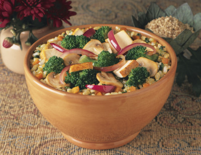 Brown Rice & Vegetables Bowl