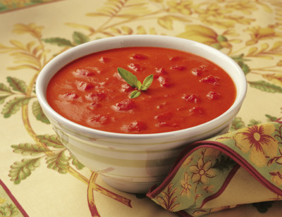 Organic Chunky Tomato Bisque, Dairy Free, Vegan standard image