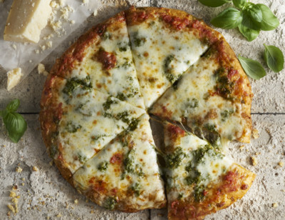 Cheese & Pesto Pizza