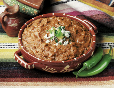 Organic Vegetarian Traditional Refried Beans standard image