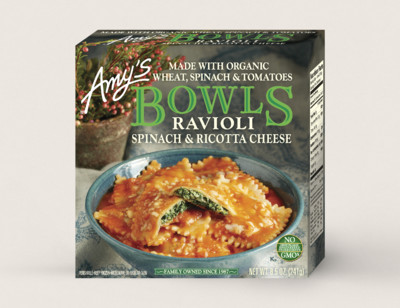 Spinach Ravioli Bowl