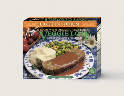 Veggie Loaf Meal, Gluten Free, Dairy Free, Light in Sodium