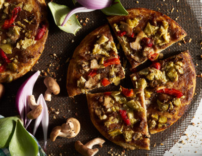 Roasted Vegetable Pizza, Gluten Free, Dairy Free, Single Serve standard image