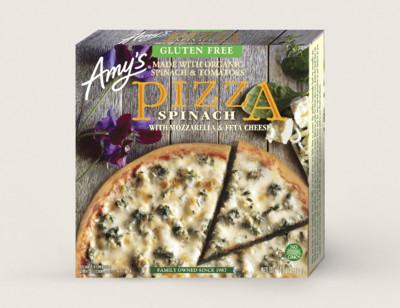 Spinach Pizza, Gluten Free