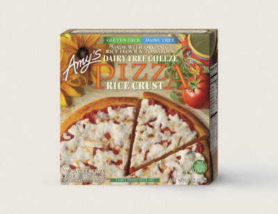 Cheeze Pizza, Gluten Free, Dairy Free, Single Serve hover image