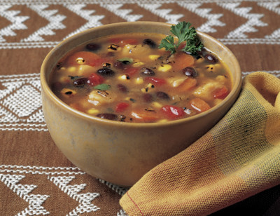 Organic Fire Roasted Southwestern Vegetable Soup, Light in Sodium standard image