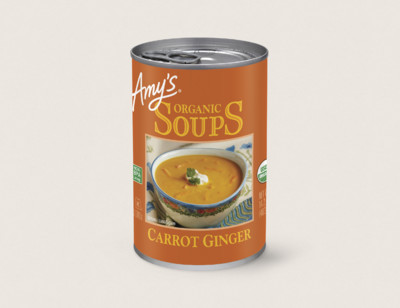 Organic Carrot Ginger Soup